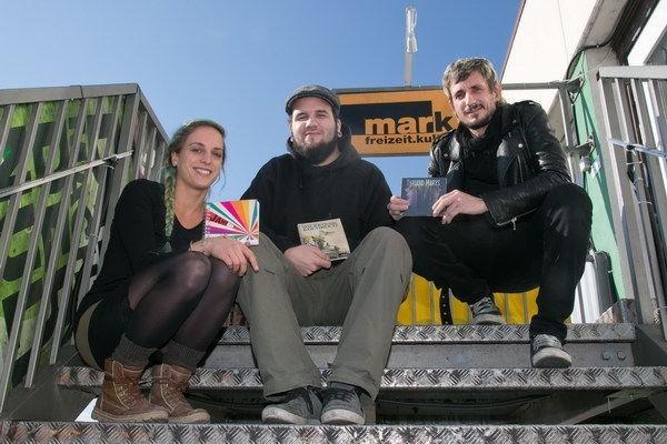 Marita Voithofer (Vorstand), Alexander Pramreiter (Jugendarbeiter), Gerd Pardeller (Geschäftsführer). Foto: Herbert Rohrer