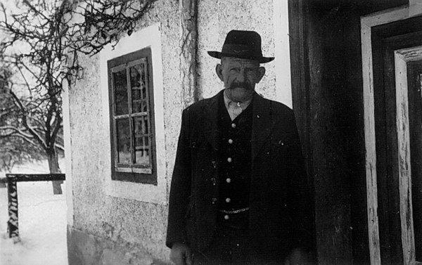 Felix Scharl, Vierthalerbauer zu Schwerting
