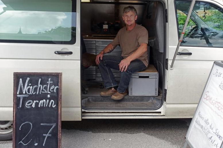Rene Wurzrainer, mobiler Schleifservice