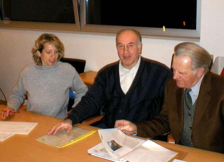 Verein Geschichte Bürmoos - erster Vorstand