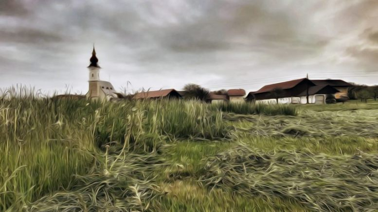 Arnsdorf im Regen