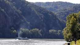 Donauschiff in der Wachau