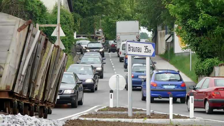Verkehr im Dorf