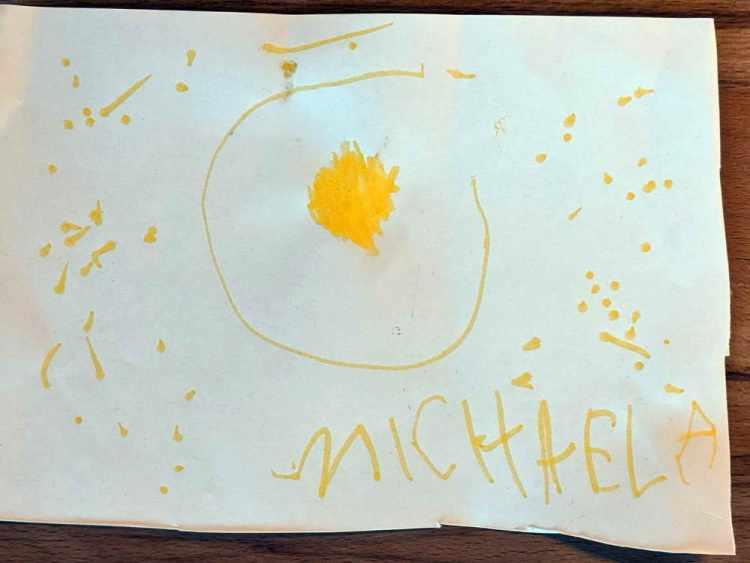 Michaela 4 Jahre Laufen D