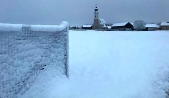 Arnsdorf im Schnee