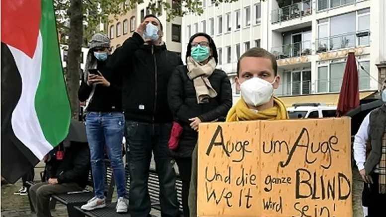 Protest gegen israelische Militärintervention