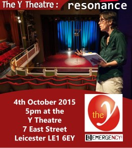 Y Theatre - Emergency! performance 4 October 2015
