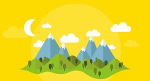 Պատկեր՝  թեմայով։ Տեղադրված հայ գրող Դօրիանի «Լեռներից այն կողմ» Հեքիաթ ստեղծագործության էջում։