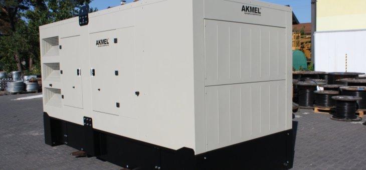 Agregat prądotwórczy stacjonarny 320 kW – FDG 400 SS