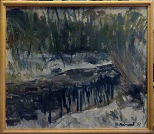 "Vyacheslav Agalakov - ""November"", 1997."