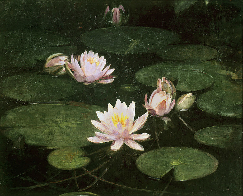 Abbott Handerson Thayer - Waterlilies
