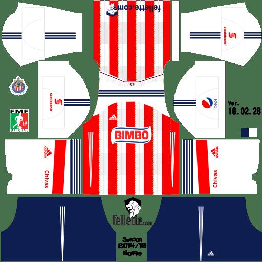 jerseys de club guadalajara