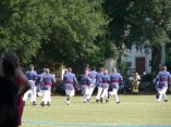 The Class of 2011 runs to the chapel after receiving their rings.