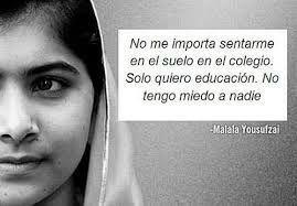 Ya no somos huérfanos, tenemos a Malala