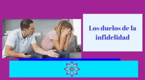 Los duelos de la Infidelidad en la pareja