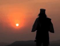 Meditacion solar Sungazing