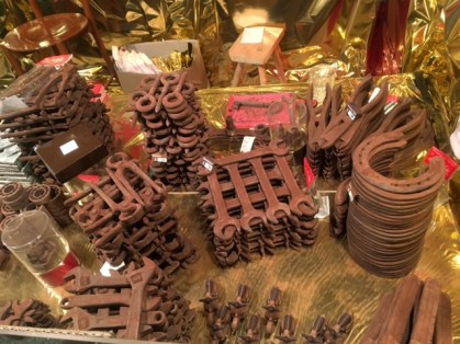Everything made of chocolate