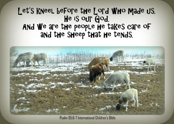 Psalm 95-6 & 7