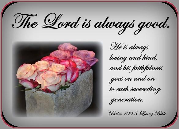 Psalm 100-5