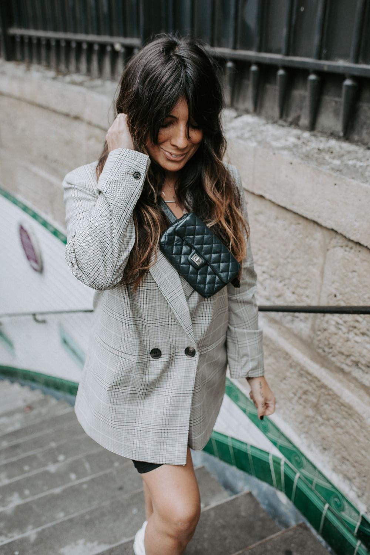 dorisknowsfashion blog mode blazer à carreaux