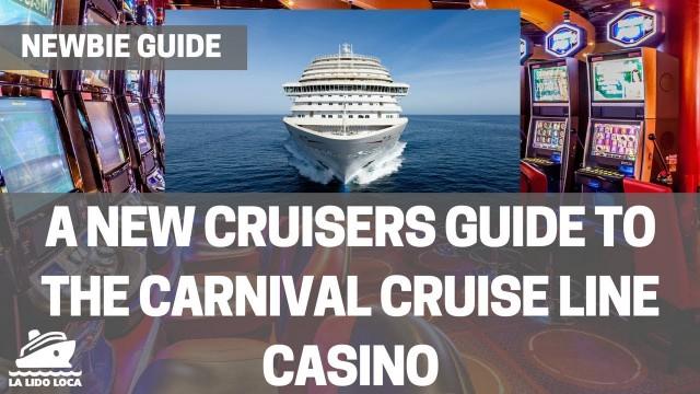 Working in a ship casino
