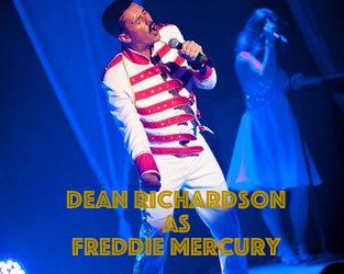 Dean Richardson as Freddie Mercury – the best we have seen anywhere