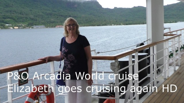 P&O Arcadia World Cruise with presenters David & Elizabeth