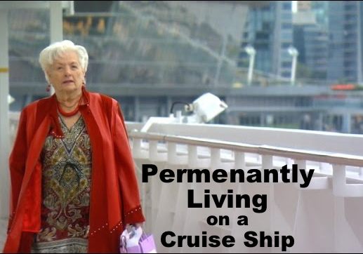 Living permanently on a cruise ship