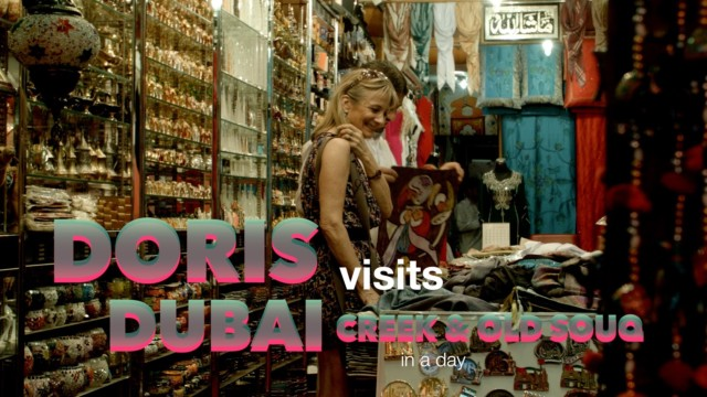 Dubai Creek, Heritage Village and Old Souk, near the cruise Terminal
