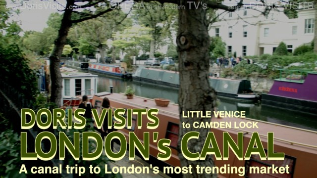 Visit London, Canal from Little Venice to Camden Market