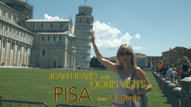 Pisa City Guide, from La Spezia. Jean films the town for Doris Visits