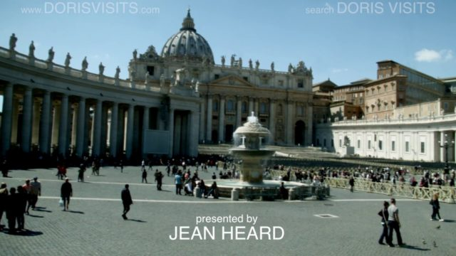 Rome City Guide, Jean's first of many films on Rome for Doris Visits