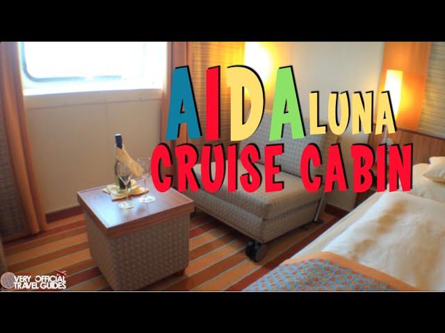 AIDAluna Cabin tour (Aida Luna)