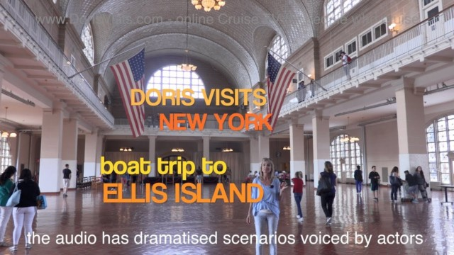 New York, Ellis Island explained – Jean is there for Doris Visits.