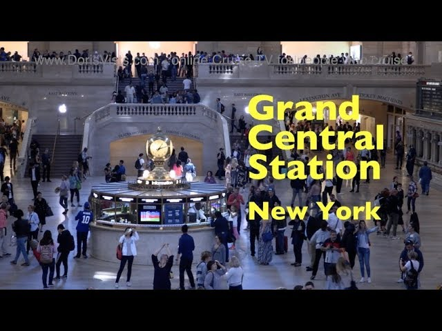 New York, Grand Central Station – on the Big Bus Purple route