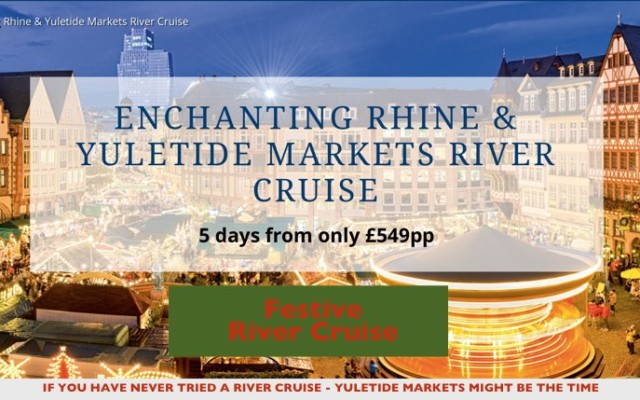 Luxury River Cruising to Christmas Markets on the Rhine