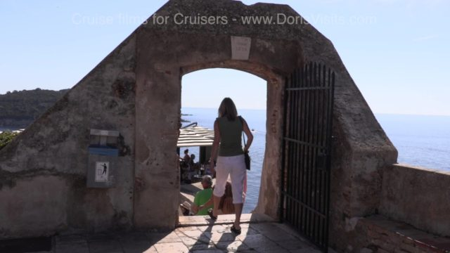 Walking Dubrovnik's Ramparts and Walls round the 12 century old town