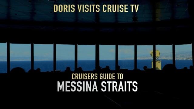 Messina Strait, sail through by P&O Aurora R717.