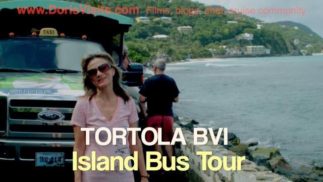 TORTOLA BVI. – TOUR – Island Bus Tour / Excursion film by Jean Heard