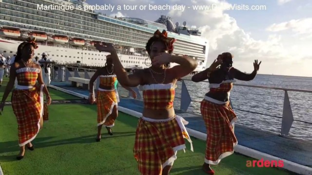 Martinique, French Caribbean Island that takes Euros!