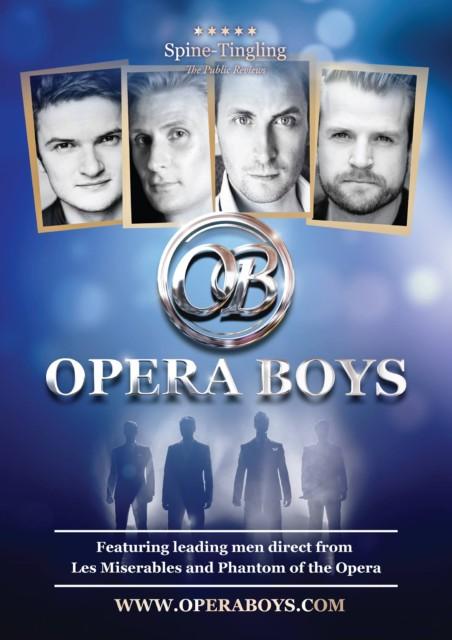 The Opera Boys – a powerhouse of top class vocal harmony