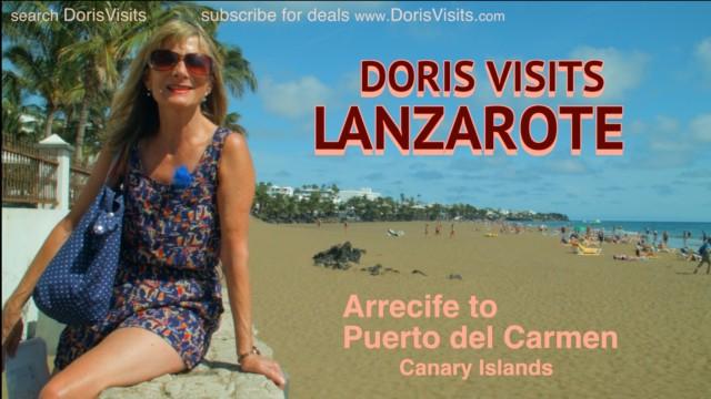 Lanzarote, Doris Visits Puerto del Carmen