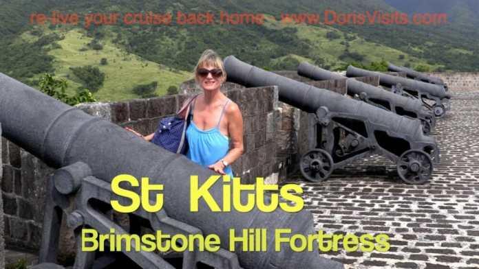 St Kitts Dec 2017, Caribbean. Brimstone Hill Fortress. Jean's video report for Doris Visits Cruisers