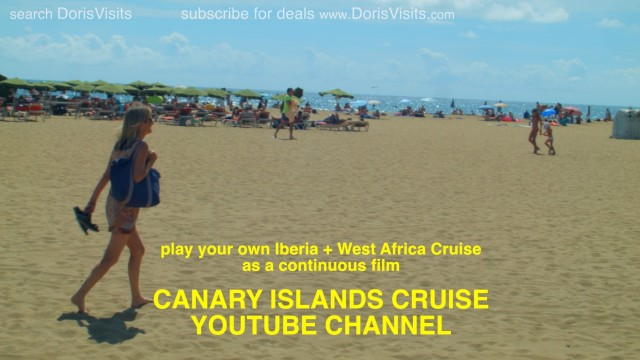 Canary Islands, Madeira and West Africa Cruise YouTube Channel