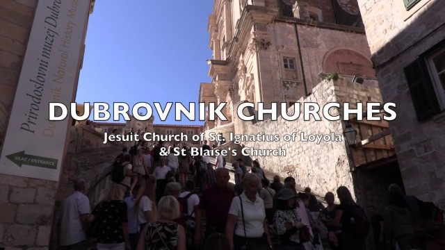 Dubrovnik: The churches of Dubrovnik