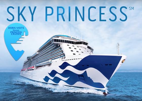 New ship SKY PRINCESS – debuting in the Med 2019