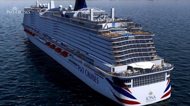 Ship tour of P&O IONA already on Doris Visits – how?