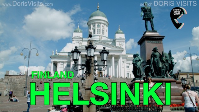 Helsinki, Finland. A great Baltic city on a fabulous cruise. Jean Heard takes you round the city.