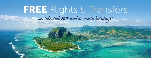 Fred Olsen offer free flights on exotic cruises