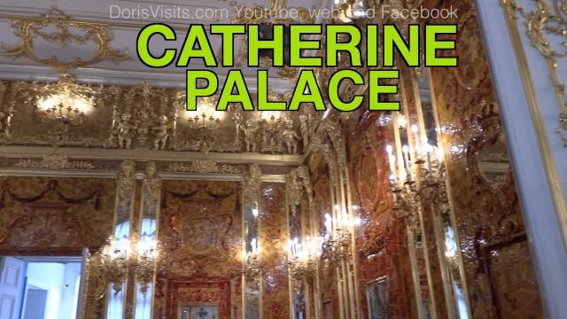 Catherine Palace, Tsarskoe Selo, St. Petersburg – full video or Tour